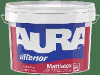 Фарба AURA Mattlatex миюча латексна біла 2.5 л