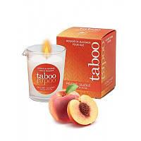 Массажная свеча для женщин с ароматом персика Ruf TABOO 60 гр