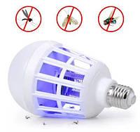 Светодиодная лампа ночник-убийца для комаров и мошек