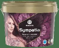 Фарба для стель Eskaro Sympatia глибокоматова 9.5 л