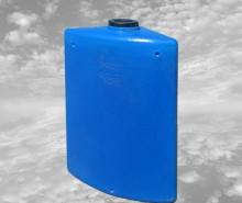 Бак пластиковый  угловой 160 л