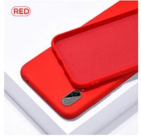 Чехол Silicon Case для Xiaomi Redmi 7A красный (ксиоми редми 7а)