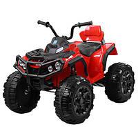 Детский квадроцикл Bambi M 3156EBLR-3 цвет красный для девочки мальчика 3 4 5 6 7 8 лет