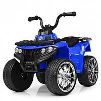 Детский квадроцикл Bambi M4137EL-4 цвет синий для девочки мальчика от 1 года до 4 лет