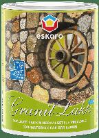 Лак для камня Eskaro Granit Lakk Aqua полуматовый 0.95 л
