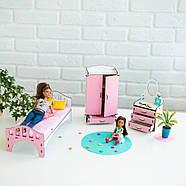 """Большой набор """"ЛЮКС"""" кукольный домик NestWood с мебелью и аксессуарами, фото 6"""
