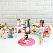 """Большой набор """"ЛЮКС"""" кукольный домик NestWood с мебелью и аксессуарами, фото 8"""