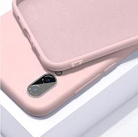 Чехол Silicon Case для Xiaomi Redmi 7A розовый (ксиоми редми 7а), фото 1