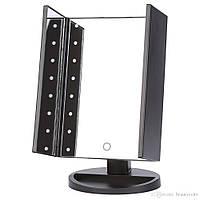 Зеркало для макияжа с подсветкой Magnifying Mirror 22 LED