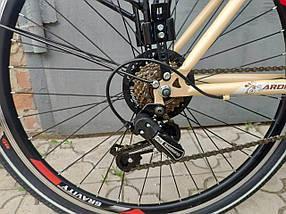 Городской велосипед Ardis Santana 2 (Shimano, багажник, 21 скорость) на 150-175 см, фото 3