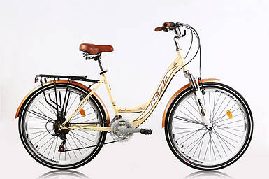 Городской велосипед Ardis Santana 2 (Shimano, багажник, 21 скорость) на 150-175 см