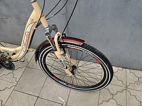 Городской велосипед Ardis Santana 2 (Shimano, багажник, 21 скорость) на 150-175 см, фото 2