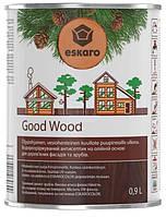 Лазурь-антисептик Eskaro Good Wood бесцветный 0.9 л