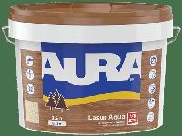 Лазурь-лак акриловый для древесины AURA Lasur Aqua (белый) 2.5 л