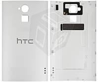 Задняя крышка батареи для HTC One Max 803n, оригинал (белая)