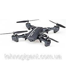 Складной квадрокоптер c камерой D18 Drone, на пульте, радиоуправляемый коптер, летающий дрон