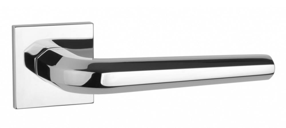 Ручка дверная на розетке Tupai 4160 5SQ хром полированный (Португалия)