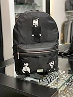 Мужской рюкзак Dolce Gabbana|Черный рюкзак повседневный Дольче Габбана|Портфель черный Dolce Gabbana женский