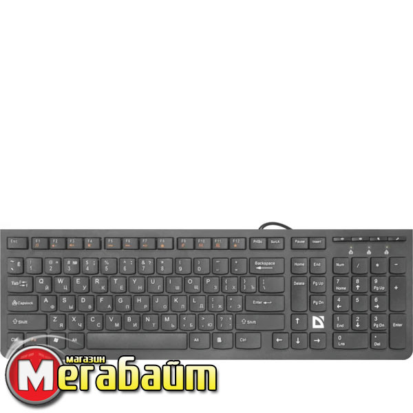 Клавиатура Defender UltraMate SM-530 Black (45530)