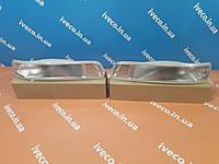 Указатель поворота левый IVECO STRALIS TRAKKER поворотник , повторитель в бампере 41221041 42555023, фото 1