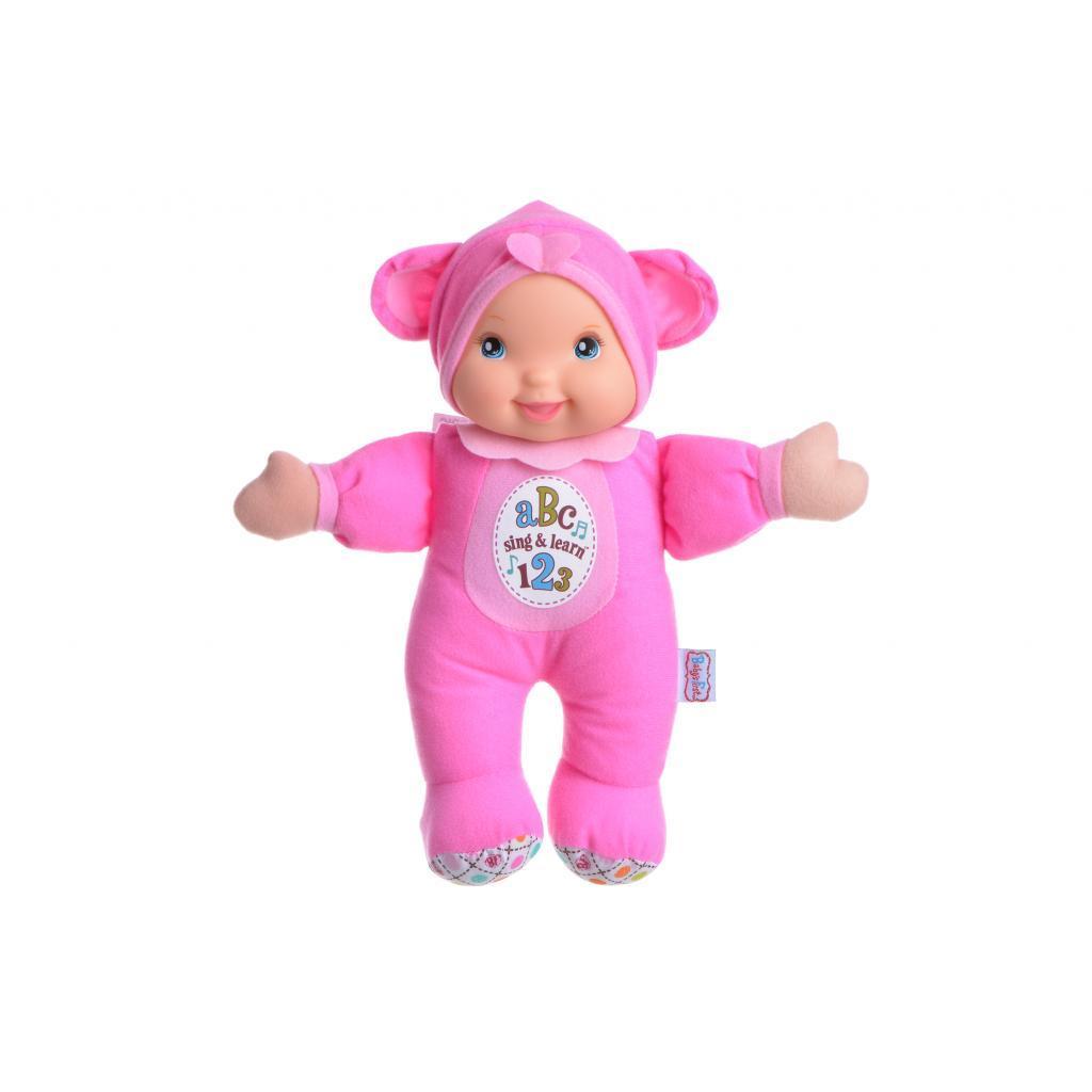 Кукла Baby's First Sing and Learn Пой и Учись (розовый медвежонок) (21180-3)