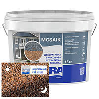 Силиконовая декоративная штукатурка мозаичная Aura Luxpro Mosaik M15 B257 15 кг