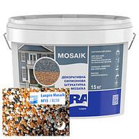 Силиконовая декоративная штукатурка мозаичная Aura Luxpro Mosaik M15 B238 15 кг