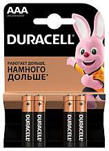 Батарейка Duracell Basic AAA/LR03 BL 4шт