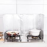 Захисна складна панель з фольги для газової плити (жиру) 500×900 мм, фото 8