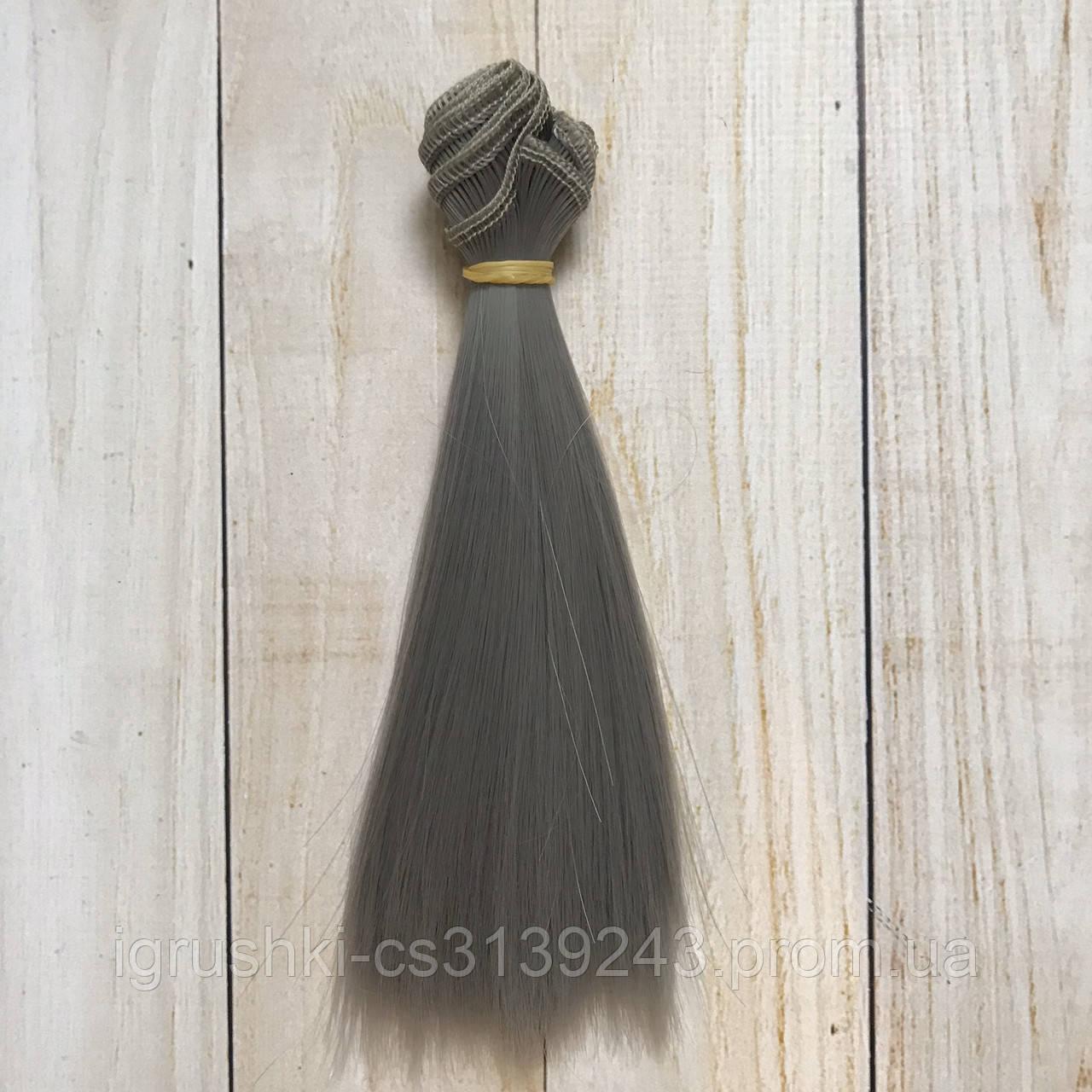 Волосся для ляльок (тресс) 15 * 100 см Колір 18