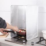 Захисна складна панель з фольги для газової плити (жиру) 500×900 мм, фото 5