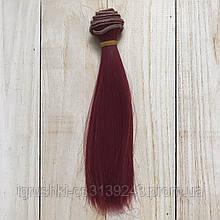 Волосся для ляльок (тресс) 15 * 100 см Колір 27