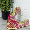 """Мокасины женские, розовые """"Miny"""" текстильные, слипоны женские, кроссовки женские, обувь женская повседневная, фото 6"""