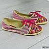 """Мокасины женские, розовые """"Miny"""" текстильные, слипоны женские, кроссовки женские, обувь женская повседневная, фото 7"""