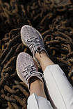 🔥 Кроссовки женские Adidas Yeezy V2 Synth (адидас изи буст синт) рефлективные, фото 10
