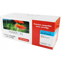 Картридж Makkon HP CLJ CE401A (507A) (SE401A) 6k cyan (MN-HP-SE401A), фото 1