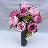 Пионовидная роза Остин сиренево пудровый 46 см, фото 2