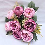Пионовидная роза Остин сиренево пудровый 46 см, фото 3