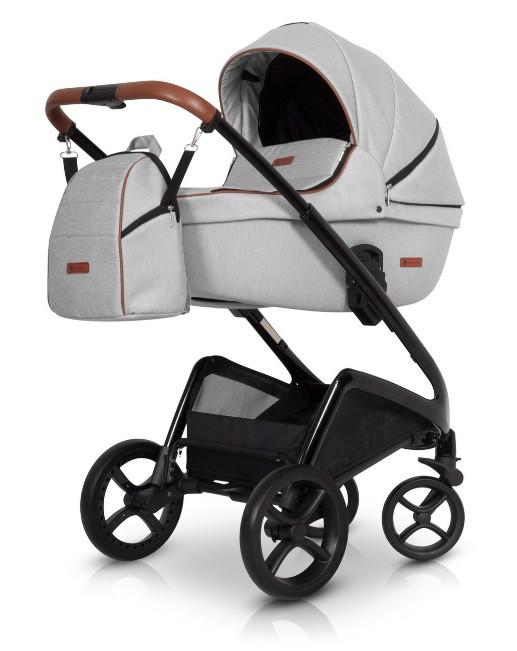 Универсальная коляска 2в1 Euro-Cart Express grey fox