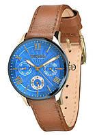 Женские наручные часы Guardo S02006 GBlBr Золотистый, КОД: 1548601