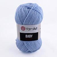 Пряжа Baby 50гр - 150м (215 Голубой) YarnArt