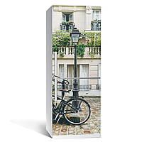 Наклейка на холодильник Zatarga Велосипед 650х2000 мм Разноцветный Z180195, КОД: 1804256
