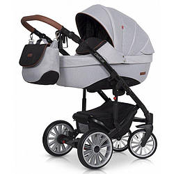 Коляска 2в1 Euro-Cart Delta grey fox