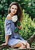 Літня жіноча сукня з еластичним декольте Key LHD 576, фото 5