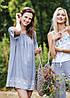 Літня жіноча сукня з еластичним декольте Key LHD 576, фото 2