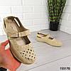 """Босоножки женские, бежевые """"Alan"""" эко кожа, сабо женские, открытые туфли женские, фото 7"""