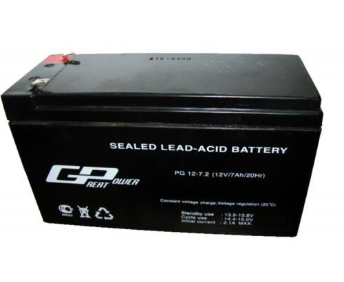 Аккумулятор Great Power PG 12-7.2