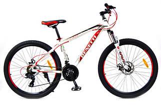 Горный алюминиевый велосипед 26 BENETTI Apex DD на 15 раме, фото 3