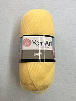 Пряжа Baby 50гр - 150м (315 Желтый) YarnArt