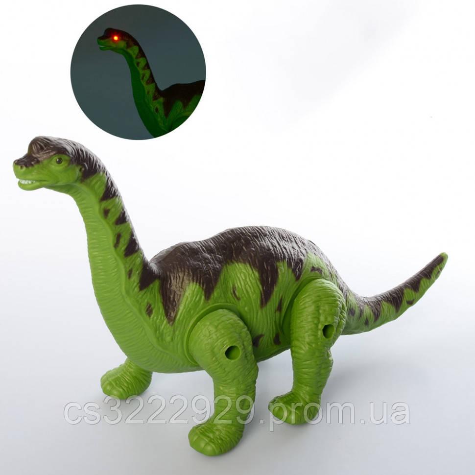 Интерактивный Динозавр 30 см TT351 (Зелёный)